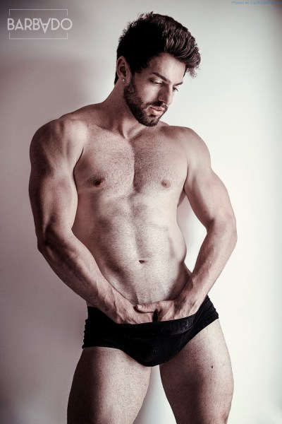 Lucas Lima - Muscled And Hairy Hunk 1