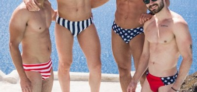In The Sun With Hunks From WAPO Wear 1