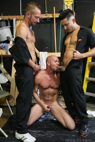 Getting Hard At Work With Hunter Vance Matt Stevens & Dek Reckless 4