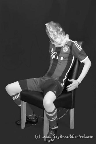 Bagged black and white soccer EmoBCSMSlave