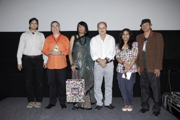 Chief Guest Anupam Kher at Closing Ceremony