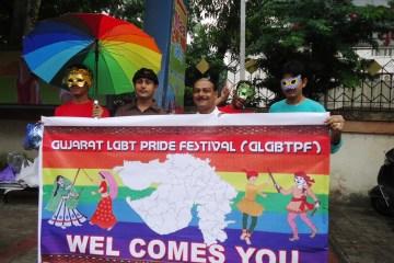 Pride March held in Surat, Gujarat on Oct 6, 2013