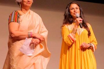 Ms.Shobhaa De and Prof.Nandini Sardesai at Best of KASHISH at NCPA