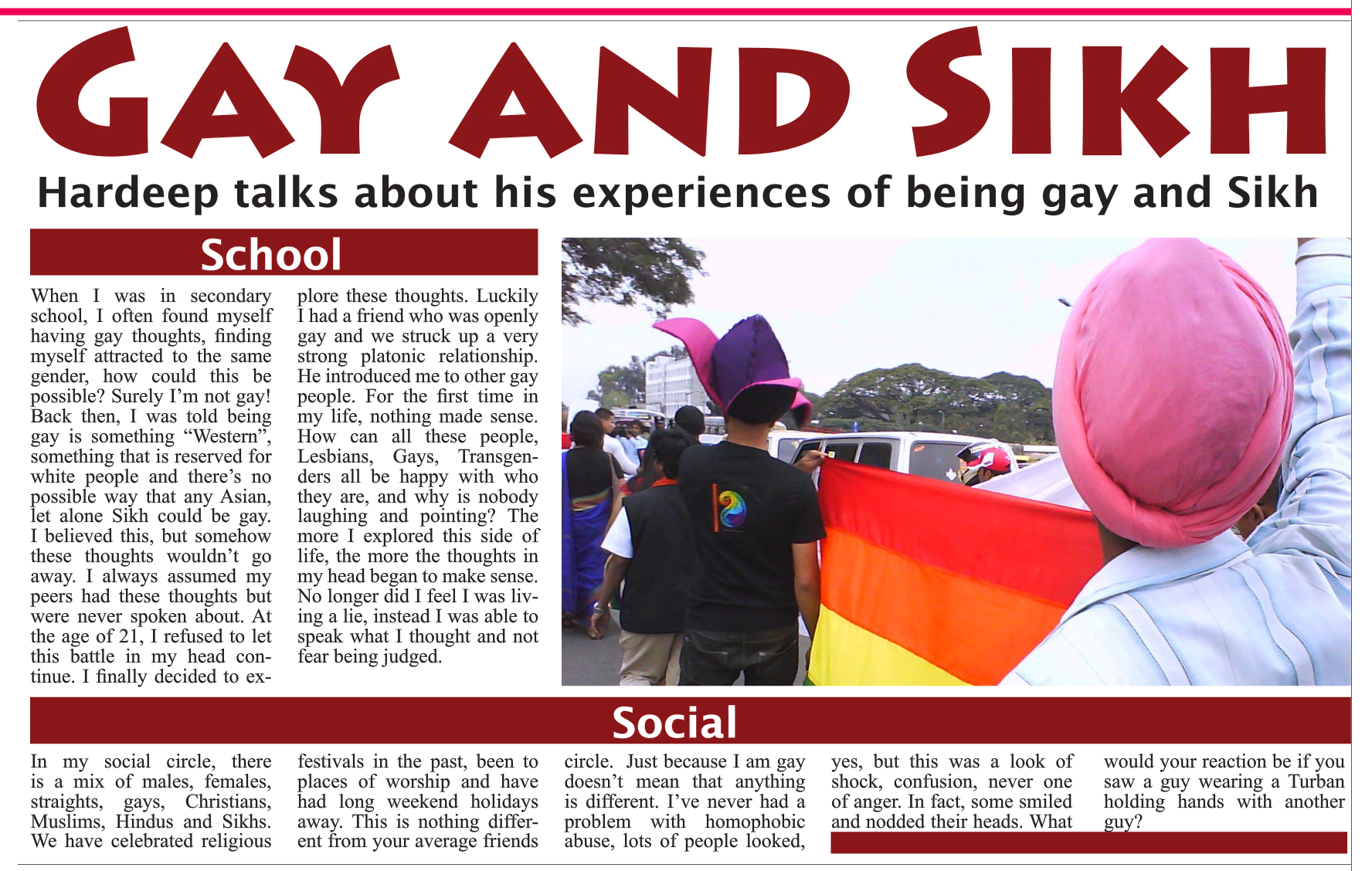 from Trent sikhism and gays