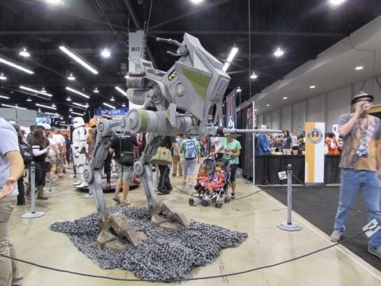 Star Wars Celebration Anaheim Exhibit Hall15