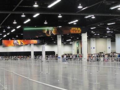 Star Wars Celebration Anaheim Exhibit Hall46