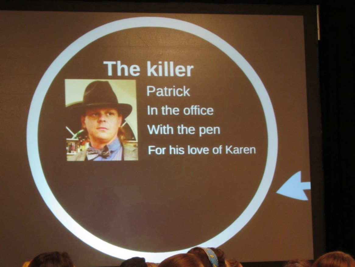 Phoenix Comicon 2015, Sherlock Murder Mystery