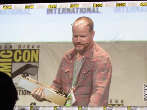 Comic Con 2015 Joss Whedon Saturday Hall H25