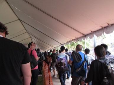 SDCC 2015, Hall H line
