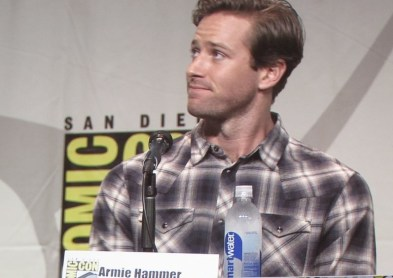 SDCC 2015, Warner Bros, Man from UNCLE, Hall H, Armie Hammer