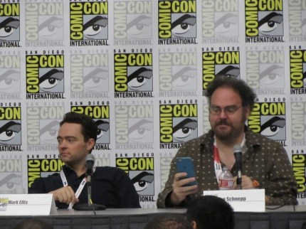 SDCC 2015 Friday Masters of the Web, Mark Ellis, Jon Schnepp
