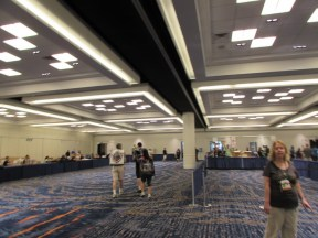 Program Premiums Room (formerly knows as Fulfillment Room) was pretty empty and had notably less giveaways than usual