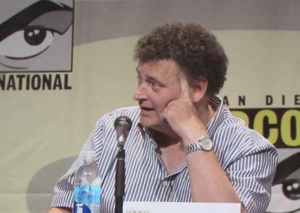 SDCC 2015 Thursday Doctor Who Panel, Steven Moffat