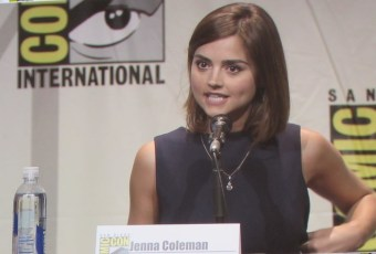 SDCC 2015 Thursday Doctor Who Panel, Jenna Coleman
