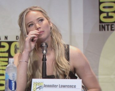 SDCC 2015 Thursday Hunger Games Panel, Jennifer Lawrence