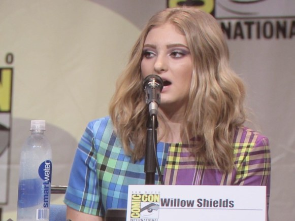 SDCC 2015 Thursday Hunger Games Panel, Willow Shields