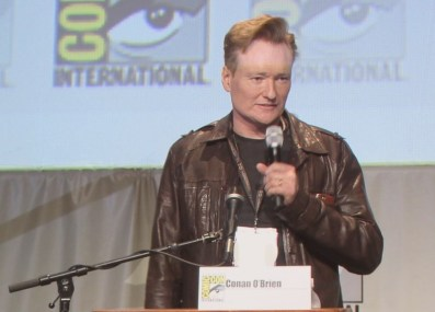 SDCC 2015 Thursday Hunger Games Panel, Conan OBrien