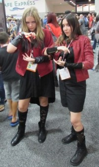 SDCC 2015, Exhibit Hall, Preview Night, Scarlet Witch cosplay