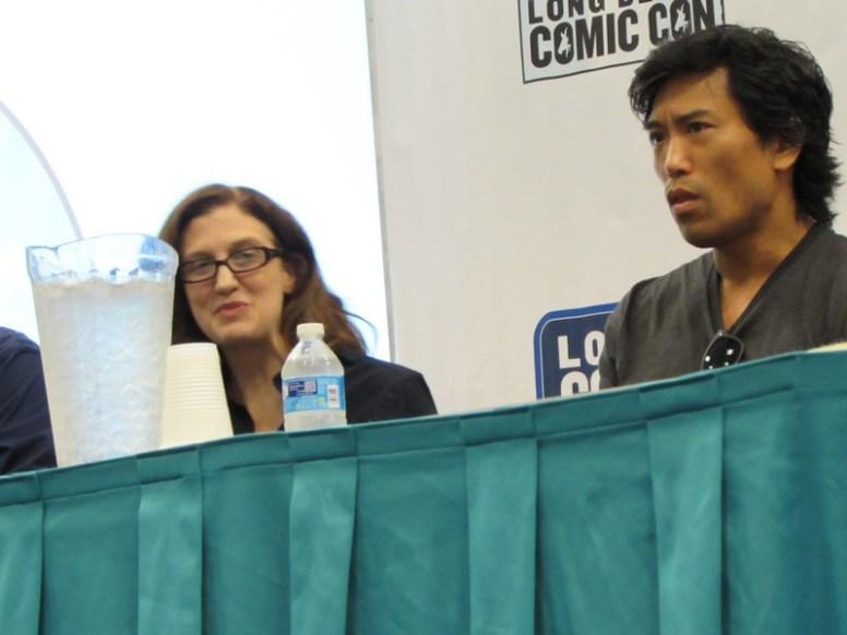 Long Beach Comic Con, LBCC 2015, Daredevil, Ruth Fletcher Gage, Peter Shinkoda