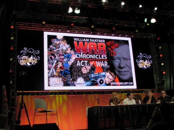 Comikaze, William Shatner, War Chronicles