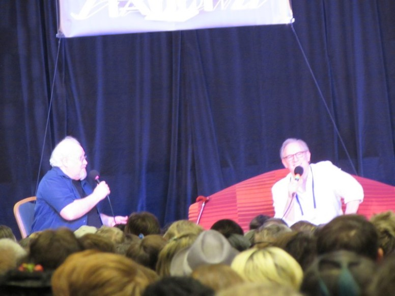 Colin Baker and Peter Davison