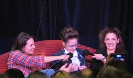 Gallifrey One 2016, Ingrid Oliver, Michelle Gomez