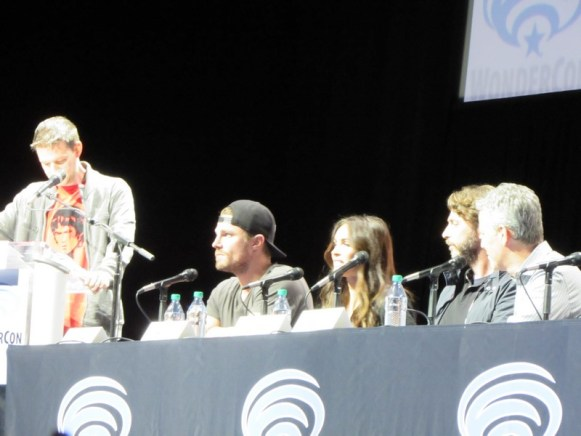 WonderCon 2016, Friday, Microsoft Theater, TMNT 2, Teenage Mutant Ninja Turtles: Out of the Shadows, Stephen Amell, Megan Fox, Andrew Form, Brad Fuller