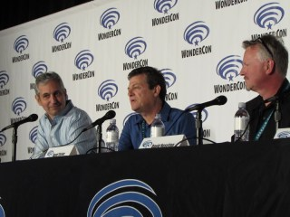 WonderCon 2016 Friday, Houdini & Doyle, David Shore, David Titcher, David Hoselton