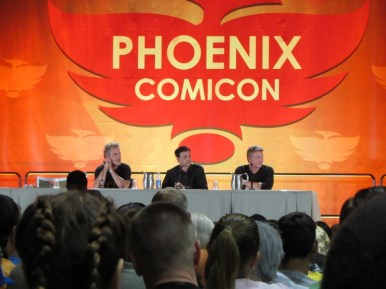 Phoenix Comicon 2016, Karate Kid, Martin Kove, Ralph Macchio, William Zabka