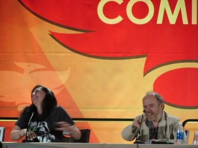Phoenix Comicon 2016, Neve McIntosh, Dan Starkey