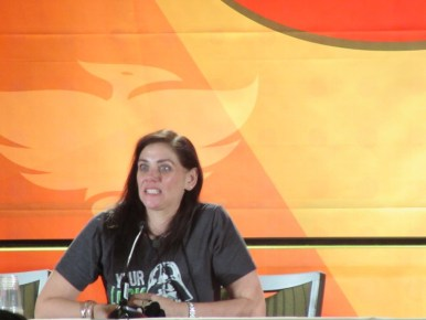 Phoenix Comicon 2016, Neve McIntosh