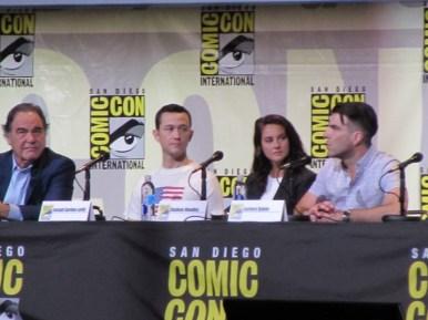 SDCC 2016, Snowden, Oliver Stone, Joseph Gordon-Levitt, Shailene Woodley, Zachary Quinto