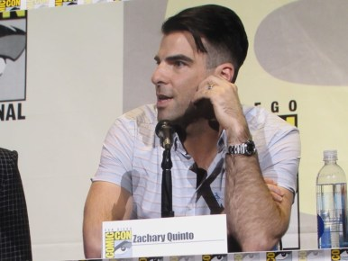 SDCC 2016, Snowden, Zachary Quinto