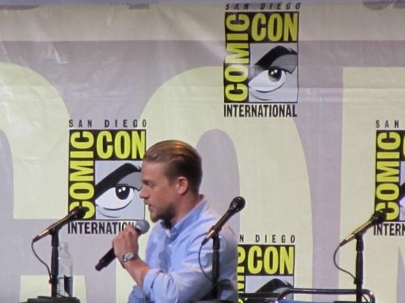 SDCC 2016, Warner Bros, King Arthur: Legend of the Sword, Charlie Hunnam