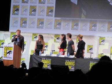 SDCC 2016, Warner Bros, Wonder Woman, Connie Nielsen, Chris Pine, Gal Gadot, Patty Jenkins