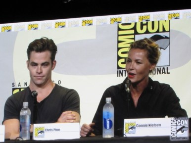 SDCC 2016, Warner Bros, Wonder Woman, Chris Pine, Connie Nielsen
