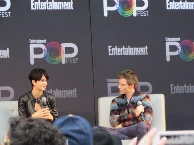 EW PopFest 2016, Fantastic Beasts and Where to Find Them, Katherine Waterston, Eddie Redmayne