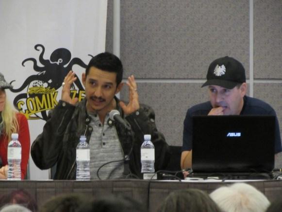 Stan Lee's LA Comic Con 2016, Masters of VFX, Gabriel Luna