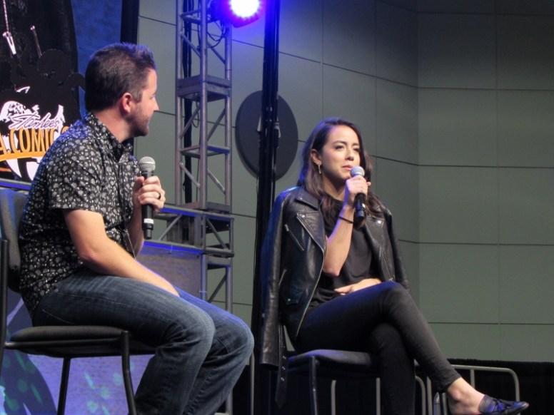 Chloe Bennet at LA Comic Con 2017