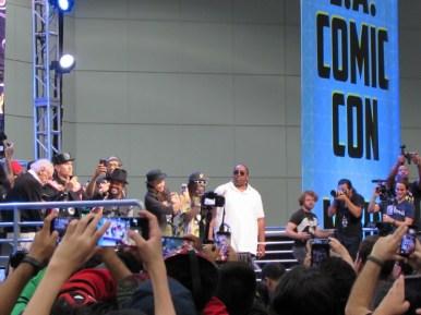 Black Eyed Peas at LA Comic Con 2017