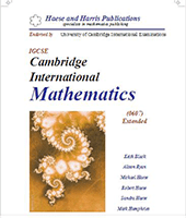 IGCSE Cambridge International Mathematics (0607) Extended by Kaish Black & Alison Ryan