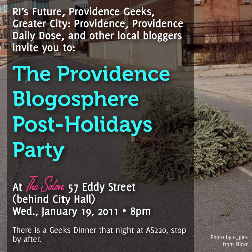 Providence Blogosphere Post-Holidays Party