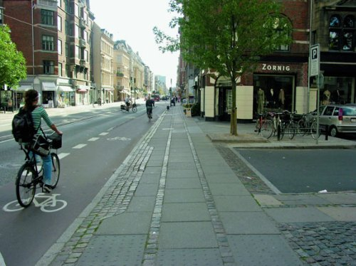 Copenhagen sidewalk