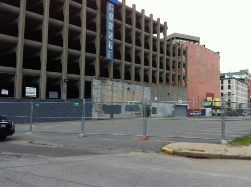Outlet Garage slated for demolition in Providence