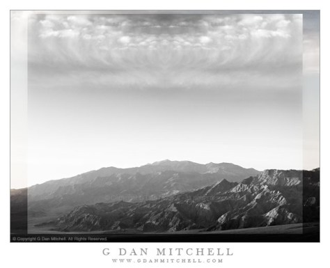 Imaginary Landscape - Death Valley - An imaginary landscape derived from subjects photographed in Death Valley National Park.