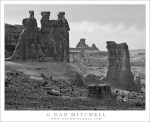 Sandstone Towers, Early Evening