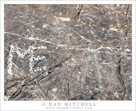 Defaced Petroglyph Site