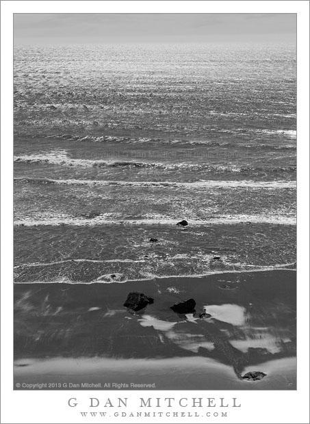 Beach and Rocks, Pacific Ocean