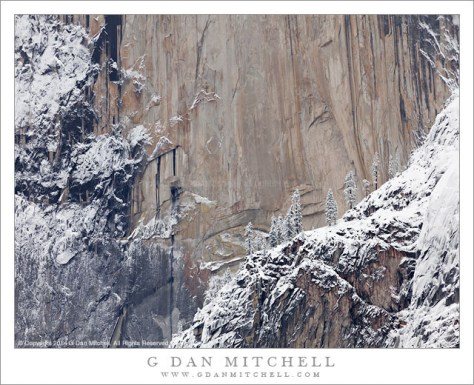 Granite Face, New Snow