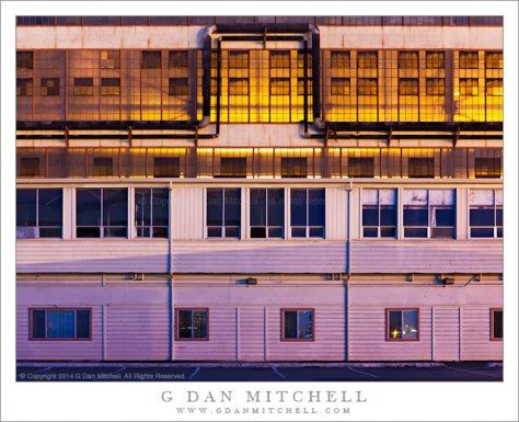 Industrial Building, Mixed Lighting